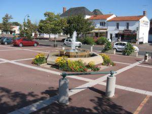 Le centre bourg de Soullans