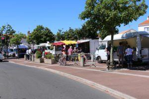 Le marché à Soullans